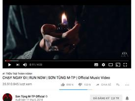 Sau hơn 1 ngày mất tích bí ẩn, MV 'Chạy ngay đi' của Sơn Tùng M-TP trở lại Top 1 Trending Youtube