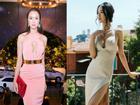 'Lác mắt' trước loạt váy áo phô trọn vòng 1 silicon của Vũ Ngọc Anh