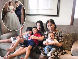 Hot girl - hot boy Việt: Hằng 'Túi' dẫn cả nhà đi 'lánh nạn' giữa bão scandal tố chồng cũ không chu cấp tiền nuôi con