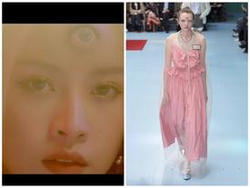 Chi Pu tái hiện người mẫu 3 mắt của Gucci trong MV mới