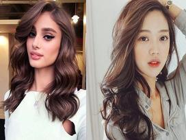 8 kiểu tóc xoăn không kén mặt cho nàng xinh lung linh