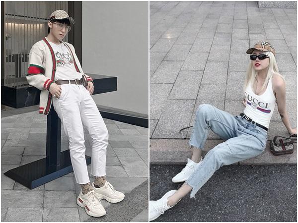 Sơn Tùng và Thiều Bảo Trâm diện đồ đôi du hí Hong Kong?