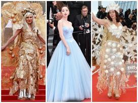 Cannes ngày 9: Ngập tràn thiết kế thả rông, biến thảm đỏ thành sàn diễn Victoria's Secret bất đắc dĩ