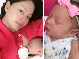 Cận mặt tiểu công chúa mới sinh nhà ngôi sao 'Cả một đời ân oán' Lan Phương
