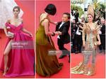 Những khoảnh khắc làm lố của sao quốc tế trên thảm đỏ LHP Cannes