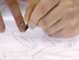 Quy trình thêu tay kỳ công của nhà mốt Dior