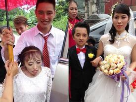 Vượt rào cản tuổi tác, chiều cao đám cưới của các 'cặp đũa lệch' này từng xôn xao mạng xã hội