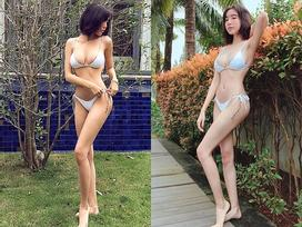 Fan 'sốt sình sịch' trước loạt ảnh khoe dáng nóng bỏng của 'gái hai con' Elly Trần