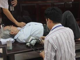 Thẩm phán Huỳnh Ngọc Thiện nói nếu phạt tù, ông Nguyễn Khắc Thủy sẽ tìm đến cái chết
