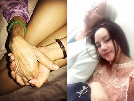 Vy Oanh khẩn thiết xin mọi người cùng nguyện cầu cho mẹ cô 'tai qua nạn khỏi'