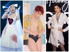 Mix & match thậm chí make-up cũng chẳng liên quan đến tổng thể, Văn Mai Hương bị chê SAO MẶC XẤU trong tuần