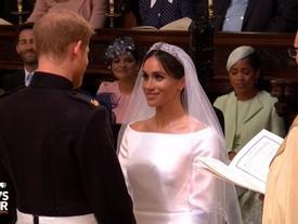 Hoàng tử Harry và vị hôn thê chính thức thành vợ chồng