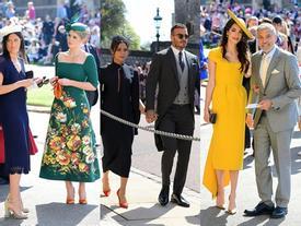 Không chỉ có cô dâu, dàn khách mời của đám cưới Hoàng gia cũng có 10 bộ cánh xuất sắc thật sự