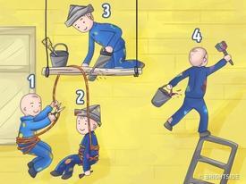Câu hỏi 'hại não' thách thức người xem: Ai là người ngu ngốc nhất trong tranh?