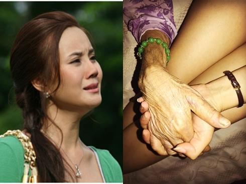 Vy Oanh nức nở vĩnh biệt mẹ: 'Con không muốn mẹ phải chịu đựng những cơn đau'
