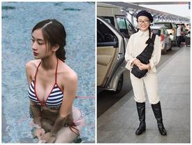 Street style giới trẻ: Phương Mỹ Chi kín đáo đối lập Jun Vũ sexy khoe vòng 1 mới trùng tu
