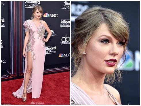 Billboard Music Awards 2018: Rắn chúa Taylor Swift chiếm spotlight SAO ĐẸP thảm đỏ
