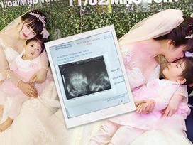 Cảnh mang bầu vất vả của tiểu thư 9x nhận nuôi bé Yến Nhi: Ngày tiêm 4 mũi giữ thai