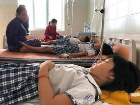Quảng Ngãi: Học sinh ngộ độc tập thể nghi uống trà sữa