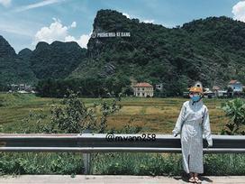 Dân mạng gật gù với màn chống nắng vừa tiết kiệm vừa hiệu quả của 'ninja' khi đi du lịch
