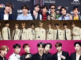 BXH danh tiếng thương hiệu ca sỹ tháng 5: BTS giành lại ngôi vương, EXO trở lại Top 5
