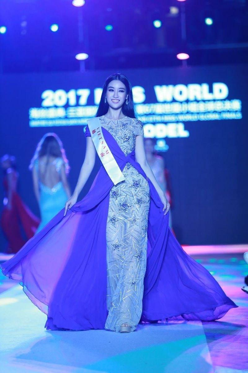 Đỗ Mỹ Linh trượt top 32 Hoa hậu của các hoa hậu 2017