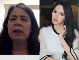 Mẹ Hương Giang Idol rơi lệ: 'Tôi có lỗi khi không sinh con ra đúng giới tính thật'
