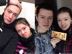 'Trai xinh' 2m08 yêu 'gái đẹp' 1m93: Cặp đôi 'khổng lồ' khiến truyền thông Trung Quốc xôn xao