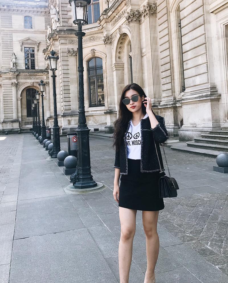Thanh Hằng, Lê Hà khoe street style tông trắng