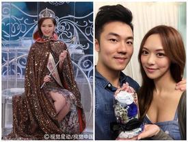 Để bảo vệ tình yêu, hoa hậu Hong Kong 2016 Phùng Doanh Doanh cam tâm làm 'trạch nữ'
