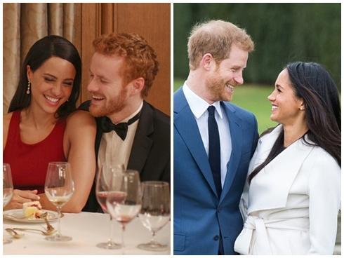 Tình yêu của hoàng tử Harry và Meghan Markle được tái hiện trên phim