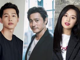 Sao Hàn 24/5: 'Ông trùm' Jang Dong Gun góp mặt trong bom tấn cùng 2 sao trẻ Song Joong Ki và Kim Ji Won