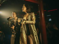 Chi Pu khoe vòng 1 sexy, bắn rap 'cực căng' với Binz