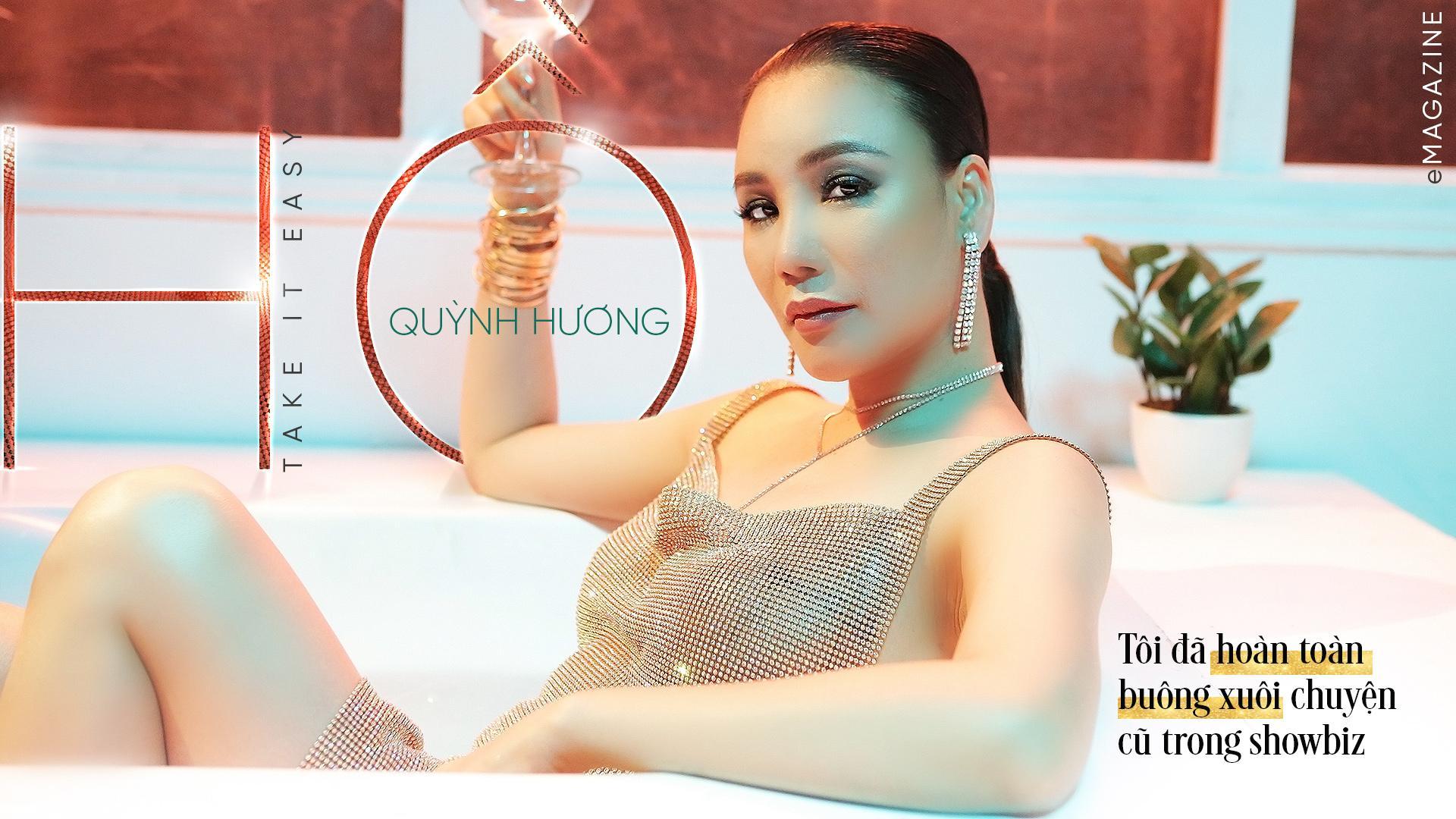 Hồ Quỳnh Hương: 'Tôi đã hoàn toàn buông xuôi chuyện cũ trong showbiz'