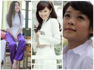 Ngẩn ngơ ngắm nhìn nhan sắc thời đi học của dàn hot girl Việt