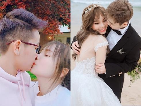 Tomboy đình đám cộng đồng LGBT - Tô Trần Di Bảo gây thu hút khi 'song đấu' cùng vợ mới cưới