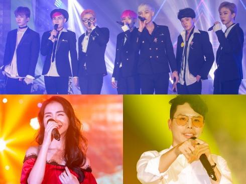 Zero9 hào hứng 'quẩy' theo Hòa Minzy hát trên sân khấu