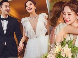 Chung Hân Đồng rơi nước mắt trong hôn lễ, hạnh phúc đến muộn sau scandal ảnh sex mất nghiệp