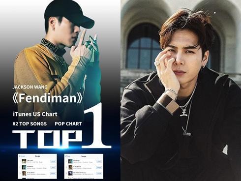 Nối tiếp Kris Wu, Jackson (GOT7) một mình 'phá đảo' iTunes Hoa Kỳ