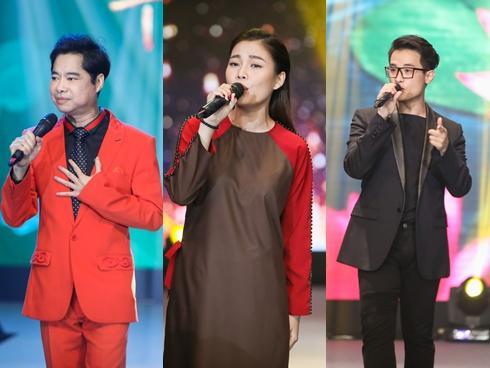 Giang Hồng Ngọc mặc áo nâu sòng hát nhạc Phật cùng Ngọc Sơn