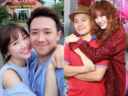 Tin sao Việt: Hari Won ôm ấp Trấn Thành, mặc kệ ồn ào bị khơi lại 'lời tuyên thệ' với rapper Tiến Đạt