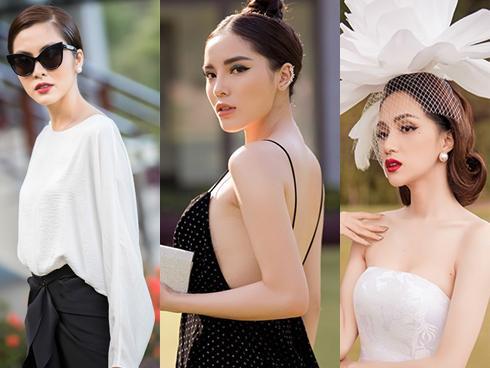 Hà Tăng thanh lịch - Kỳ Duyên sexy - Hương Giang Idol đầu 'nở hoa' trên thảm đỏ