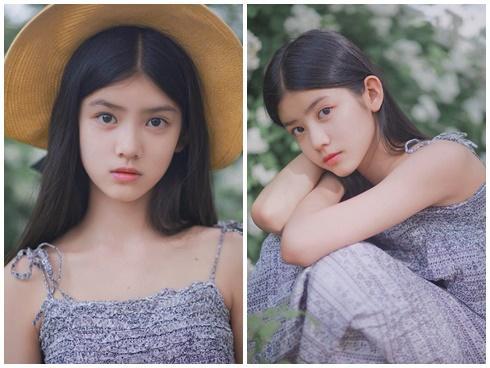 Cô bé 12 tuổi cao 1,60 m được ví như 'tiểu mỹ nhân' Trung Quốc