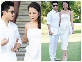 Phan Thành và bạn gái diện đồ ton sur ton quấn quýt bên nhau không rời nửa bước