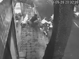 5 phụ nữ tham gia vụ giằng co với tên trộm SH trong đêm