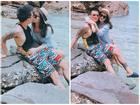 Hot girl - hot boy Việt: Thu Hương 'đốt' mọi ánh nhìn khi khóa môi ông xã giữa biển