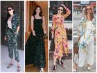 Dàn mỹ nhân Việt đồng loạt 'lên đồ' họa tiết hoa lá đốt cháy nắng hè