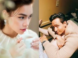 Fan vừa thông báo 'Kim Lý đang nắm tay gác đùi chị nào kìa', Hồ Ngọc Hà lập tức ủng hộ 'đánh ghen thẳng tay'