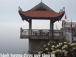 Hành hương chiêm bái quần thể văn hóa tâm linh Fansipan mùa Phật đản