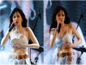 Đụng chạm vòng 1 quá tự nhiên, nữ hoàng sexy HyunA khiến netizen cũng phải ngượng ngùng